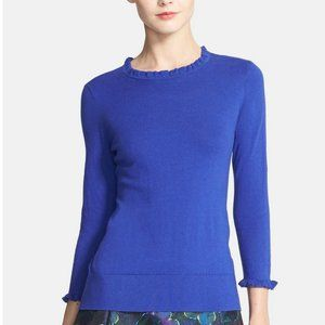 KATE SPADE NEW YORK Bekki Sweater Blue MEDIUM